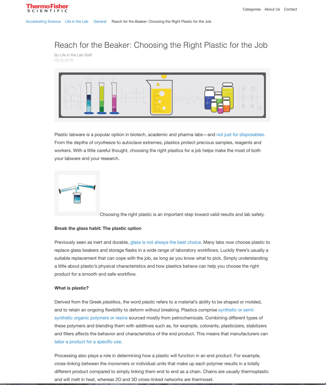 Reach for the Beaker